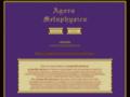 Náhled webu Agora Metaphysica