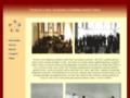Náhled webu Orchestr a sbor Akademie sociálního umění Tabor