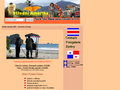 Náhled webu Střední Amerika 2004: Kostarika a Panama