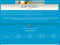 Náhled webu Elektrosat