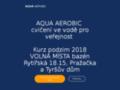 Náhled webu Aqua aerobic