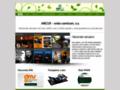 Náhled webu ARCUS - onko centrum