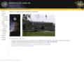 Náhled webu Dějiny Astronomického ústavu UK Praha v letech 1889-1939