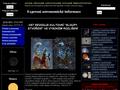 Náhled webu Expresní astronomické informace