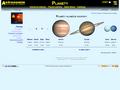 Náhled webu Planety sluneční soustavy