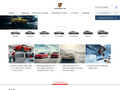 Náhled webu Porsche.cz