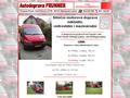 Náhled webu Autodoprava Punner