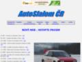 Náhled webu AutoSlalom Biskupice