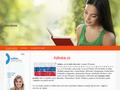 Náhled webu Azbuka - ruská abeceda