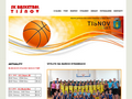 Náhled webu SK Basketbal Tišnov