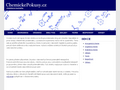 Náhled webu Chemsite