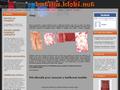 Náhled webu Batikování a savování Petra Klobasová