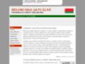 Náhled webu Svoboda pro Bělorusko
