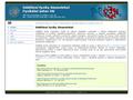Náhled webu Oddělení fyziky biomolekul