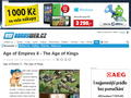 Náhled webu Age Of Empires II: The Age Of Kings