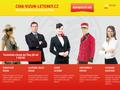 Náhled webu Víza do Číny