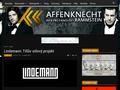 Náhled webu Rammstein: Affenknecht (Neoficiální)
