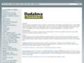 Náhled webu Dadalova kuchařka