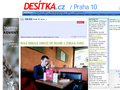 Náhled webu Desítka.cz