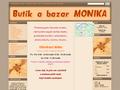 Náhled webu Dětský bazar Monika