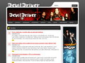 Náhled webu DevilDriver