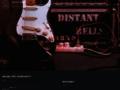 Náhled webu Distant Bells