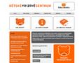 Náhled webu Dětské krizové centrum