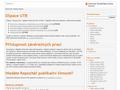 Náhled webu DSpace UTB