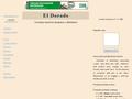 Náhled webu El Dorado Jilemnice