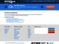 Náhled webu Entourage [Vincentův svět]
