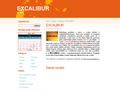 Náhled webu Excalibur