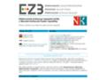 Náhled webu Elektronická knihovna časopisů (EZB)
