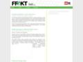 Náhled webu FFakt - časopis studentů Filozofické fakulty UK