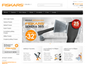 Náhled webu Fiskars