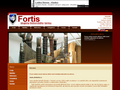Náhled webu Fortis
