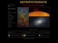 Náhled webu Amatérská astrofotografie