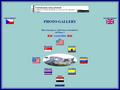 Náhled webu Fotogalerie navštívených míst