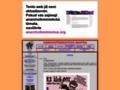 Náhled webu Feministická skupina 8. Března