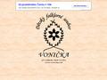 Náhled webu Vonička, dětský folklorní soubor