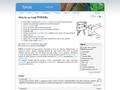 Náhled webu Fyzikální korespondenční seminář (FYKOS)