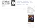 Náhled webu Fyzikální olympiáda