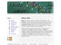 Náhled webu Ebola virus