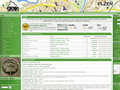 Náhled webu Geocaching Community Plzeň