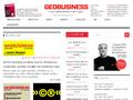 Náhled webu GeoBusiness