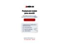 Náhled webu Mars - rudá planeta