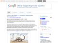 Náhled webu Blog Google Česká republika
