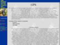 Náhled webu GPS