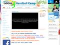 Náhled webu Handball Camp