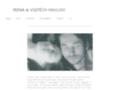 Náhled webu Havlovi, Irena a Vojtěch