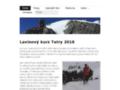 Náhled webu Horolezecký klub Choceň